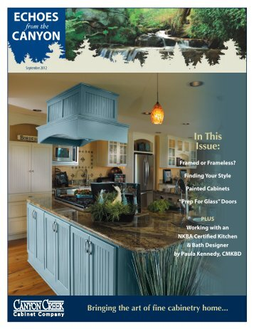 September   Canyon Creek Cabinet Company