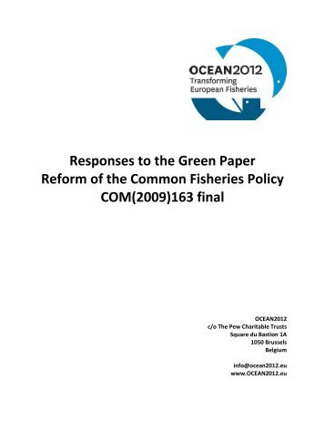 ocean2012 - European Commission - Europa