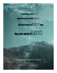 Untitled - St. Patrick Catholic Church | Lake Forest, IL