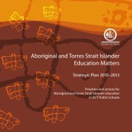 The Aboriginal and Torres Strait Islander Education Matters ...