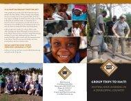 Trips Brochure - Haiti Outreach