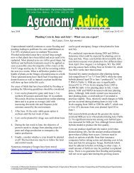 Planting Corn in June and July! – What can you expect? Joe Lauer ...