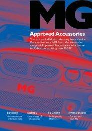 MGZ new brochure 2002 - mg rover servis