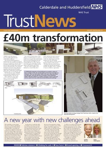Trust News - Calderdale and Huddersfield NHS Foundation Trust