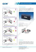 Easiprox Stand Alone Reader - GEM,Gianni Industries, Inc. - Page 2
