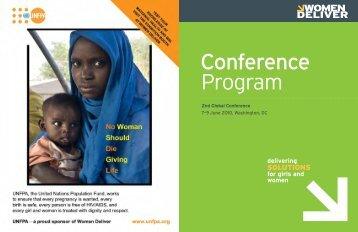full conference program - Women Deliver