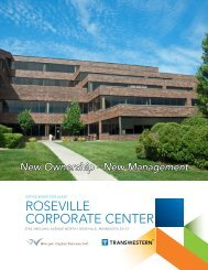roseville corporate center - Minneapolis office - Transwestern