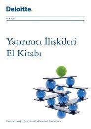 Yatırımcı İlişkileri El Kitabı - Denetimnet.Net