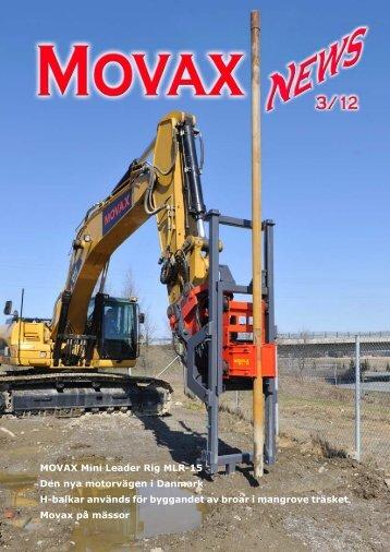 MOVAX Mini Leader Rig MLR-15 Den nya motorvägen i Danmark H ...