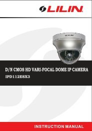 Lilin IPD-112ESX3 - Network Webcams