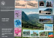 Stamp Issue 3 June 2013 (5MB) - Philatelie Liechtenstein