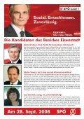 Dorfgschichten September 2008 - bei der SPÖ Trausdorf - Page 5