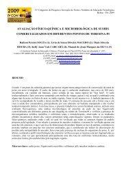 avaliação físico-química e microbiológica de sushis comercializados ...