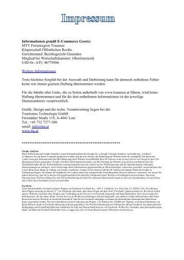 PDF herunterladen - Traunsee