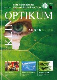 Klinoptikum 3/2010 - LKH-Univ. Klinikum Graz