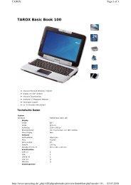 TAROX Basic Book 100 - CNET Content Solutions