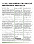 Bulletin - Motivational Interviewing - Page 6