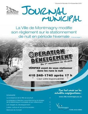 La Ville de Montmagny modifie son règlement sur le stationnement ...