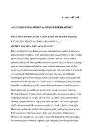 2005, BURSA 10. EDEBİYAT GÜNLERİ, Anlatı ... - alperakcam.com