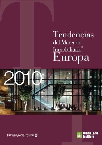 Tendencias del mercado inmobiliario® Europa 2010 - pwc