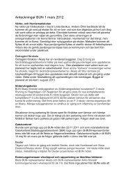 Anteckningar BUN 120301.pdf - Burlövs kommun