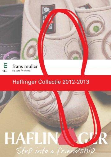 Haflinger Collectie 2012-2013 - Frans Muller