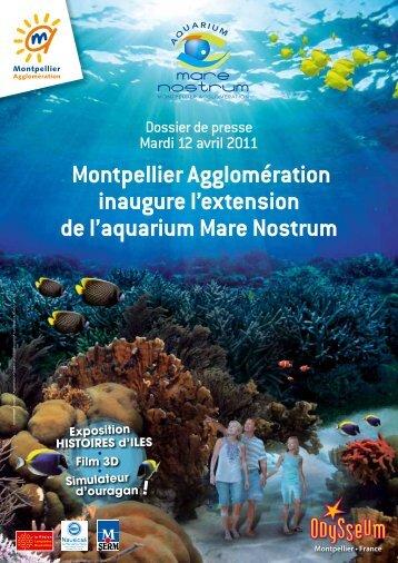 Inauguration de l'extension de l'aquarium MARE NOSTRUM