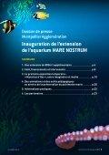 Inauguration de l'extension de l'aquarium MARE NOSTRUM - Page 2