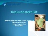 Injeksjonsteknikk - Vestre Viken HF