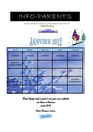 INFO-PARENTS - Bureau virtuel de la CSSMI - Commission scolaire ...
