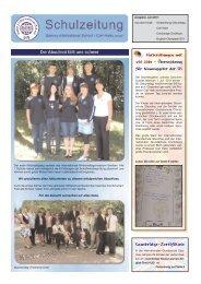 Englischolympiade 2011 - Saxony International School