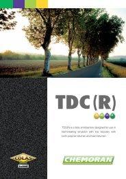 TDC(R) is a fatty amidoamine designed for use in fast ... - Chemoran
