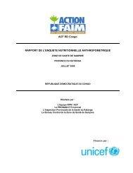 ACF RD Congo RAPPORT DE L'ENQUETE NUTRITIONNELLE ...