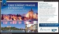 FREE 3-NIGHT PRAGUE EXTENSION! - Travel Daily Media