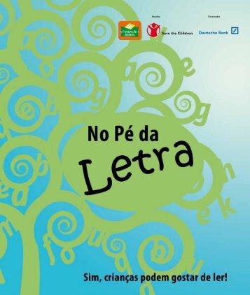 No Pé da Sim, crianças podem gostar de ler! - Fundação Abrinq