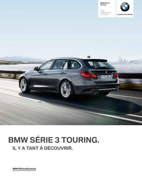 NOUVELLE BMW SÉRIE 3 TOURING.