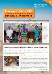 Erfolgsgeschichten aus Nihessiue (PDF, 1 MB) - World Vision ...