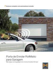 Porta de Enrolar RollMatic para Garagem - EIRINHAS