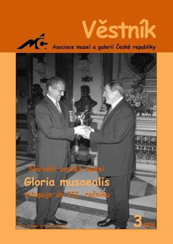 Věstník AMG 3 2004 - Asociace muzeí a galerií České republiky 922f01dad1