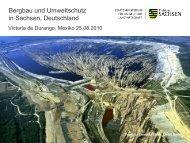Umweltschutz im Freistaat Sachsen
