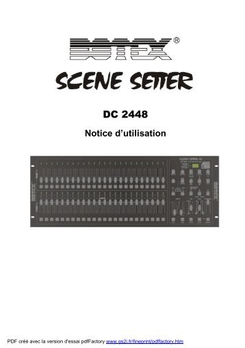 BOTEX Scene Setter DC2448