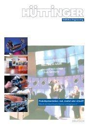 Produktpräsentation - Huttinger Exhibition Engineering