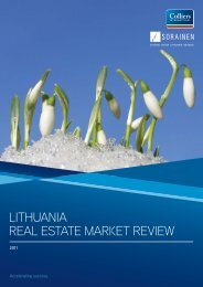 Lithuania market Review 2011_draft_v1.indd - Colliers