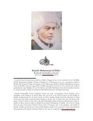 Shaykh Muhammad al-Hāfiz 1 - ma'rifah