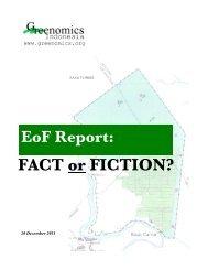 EOF Report - Greenomics Indonesia