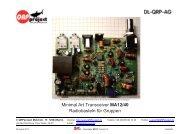 Minimal Art Transceiver MA12/40 Radiobasteln für Gruppen - DL2LTO