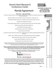 Rental Agreement - Andy's Web Tools