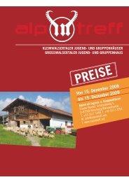 Von 15. Dezember 2008 bis 15. Dezember 2009 - Alpintreff.net