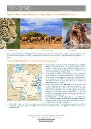 Safari en Tanzanie et vie dans un village Massai - Synopsism