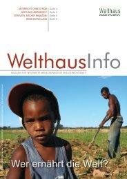 Wer ernährt die Welt? (Feb. - Mai 2012) - Welthaus Graz